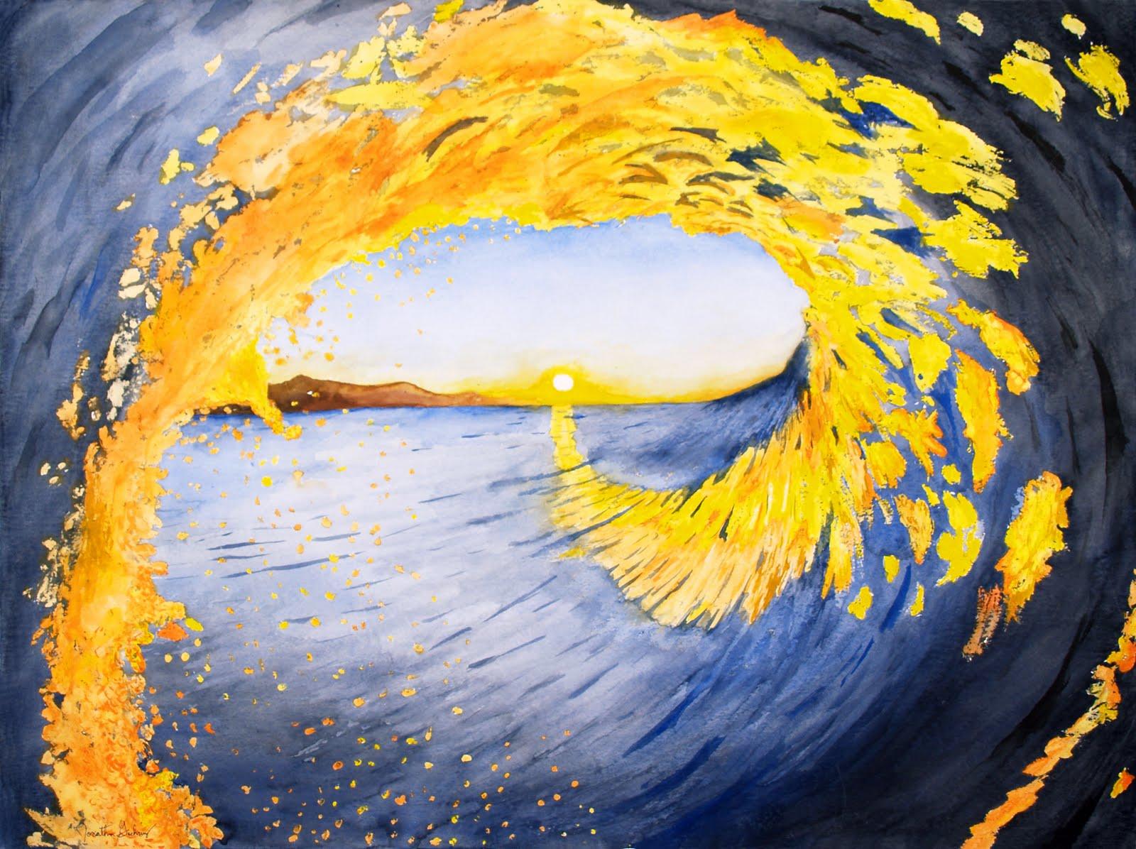 #8 Spiral Sunset