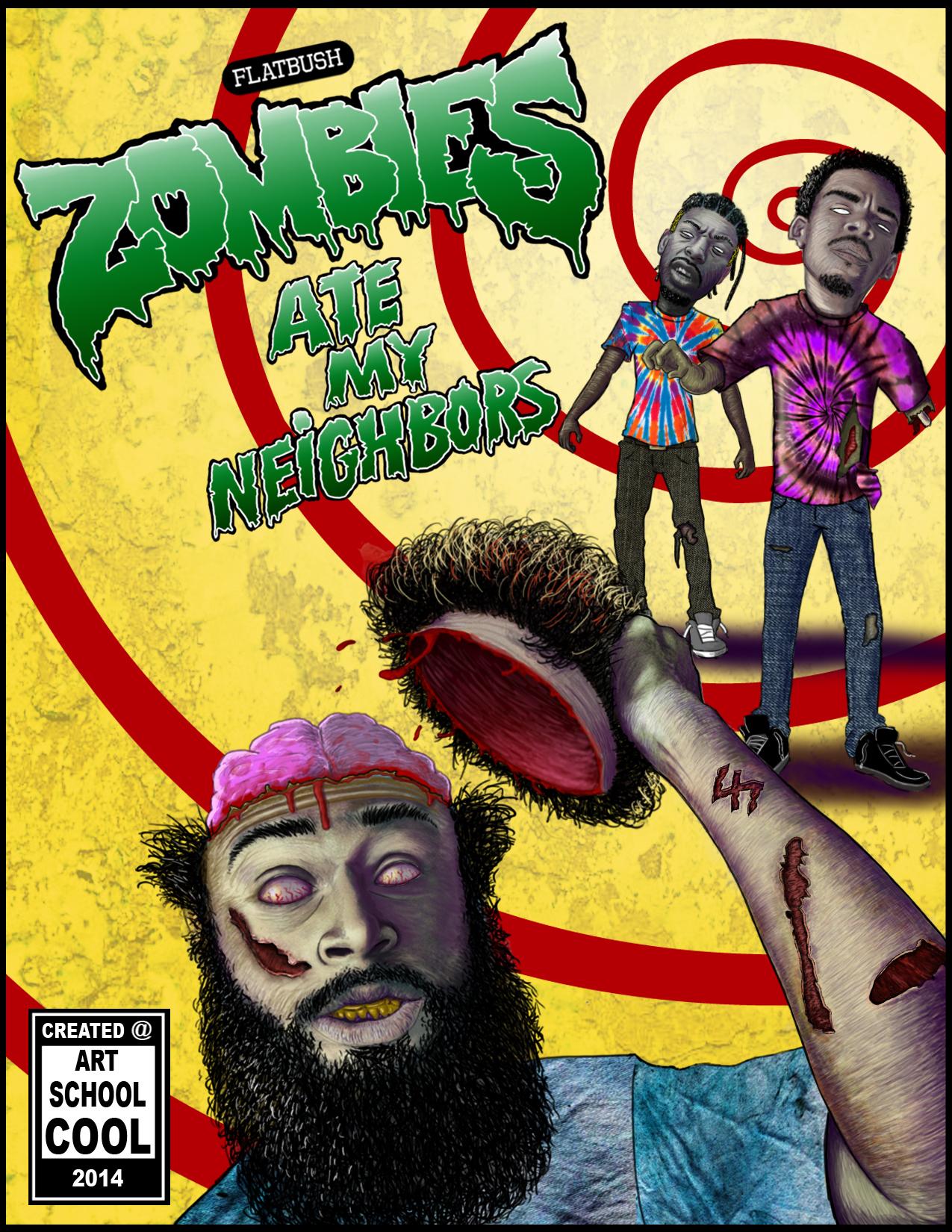 ArtSchoolCool_FlatBush_Zombies